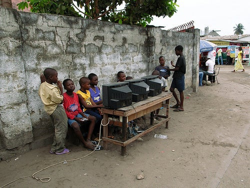 Video Game Arcade In Democratic Republic of the Congo