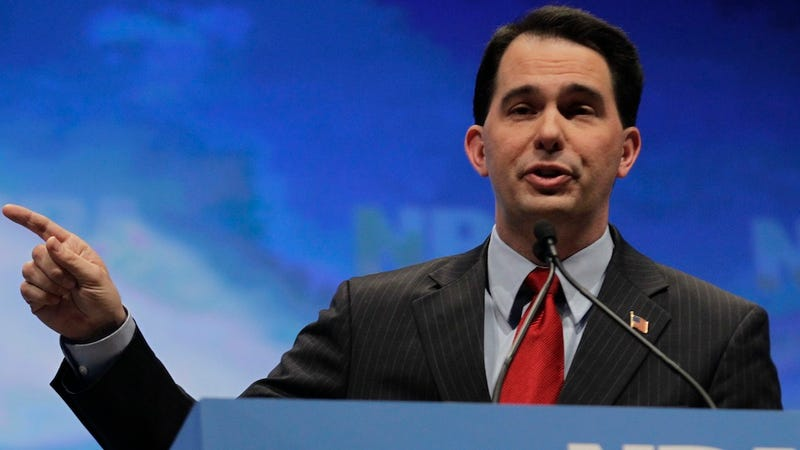 Wisconsin County Judge Strikes Down Part of Scott Walker's Anti-Union Law