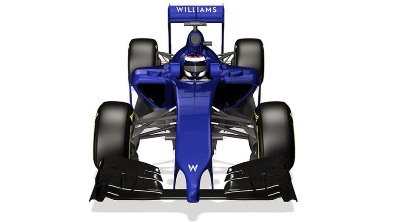 Meet The Williams FW36 And Its Penis Nose