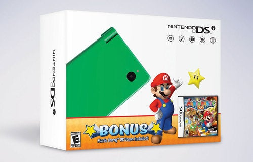 Nintendo DSi Comes In Festive Orange & Green For The Holidays