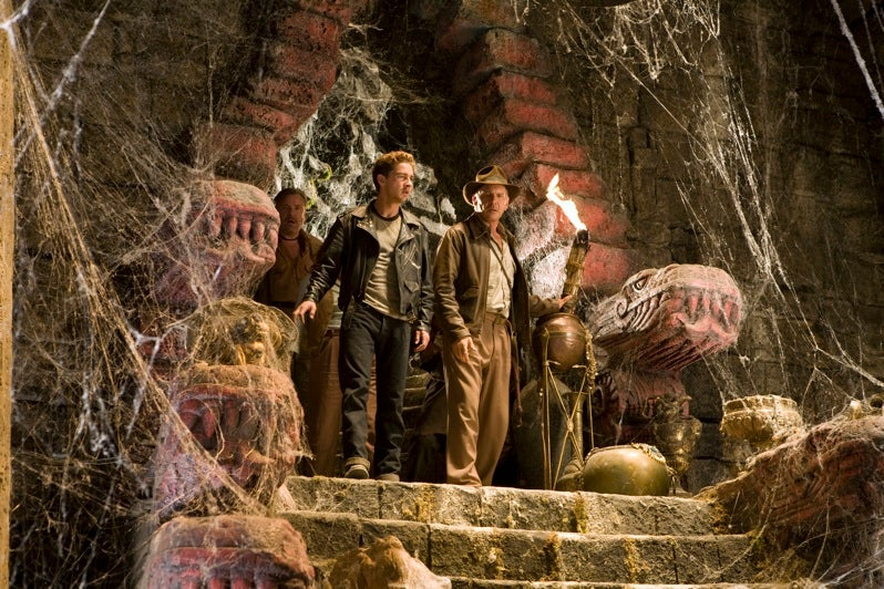 First Look at Indiana Jones in the Cobwebby Alien Dungeon