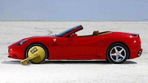 Ferrari California Press Car Hooned At 142 MPH, Impounded