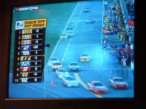 2008 Daytona 500: Three Quarters Done