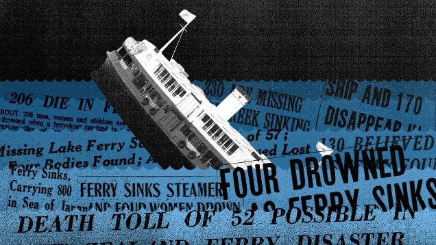 Sinking Ferries