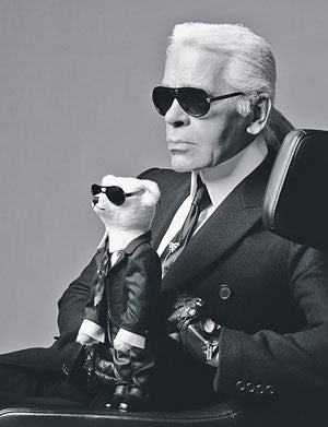 Won't You Play With Karl Lagerfeld?