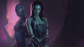 <em>Guardians Of The Galaxy</em> Art Shows The Kick-Ass Gamora We Could Have Had