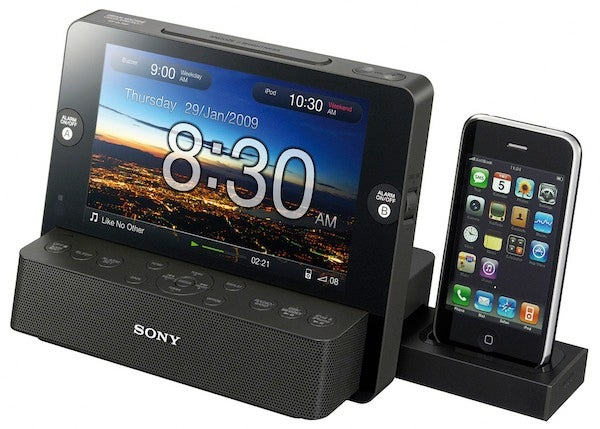Sony's ICF-CL75iP Alarm Clock Includes Retractable iPod Dock