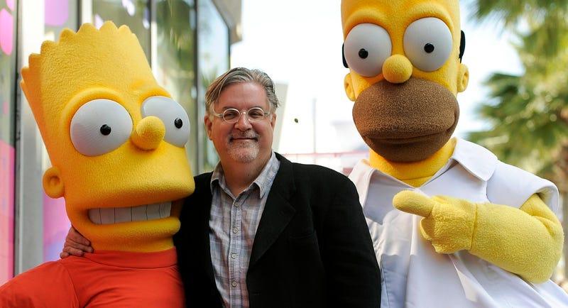 Matt Groening, creador de Los Simpson y Futurama, está trabajando en una serie para Netflix