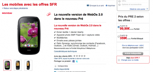"WebOS 2.0 Now Official, Arriving On Palm Pre 2 ""In the Coming Months"" In US"