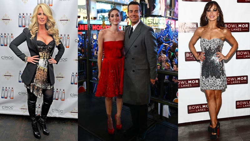Celebrities Dress For A Night's Work On New Year's Eve