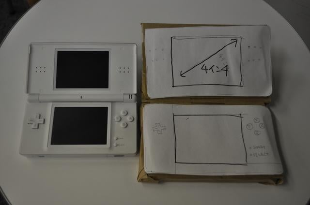 What Would The DS Look Like With a Four Inch Screen?