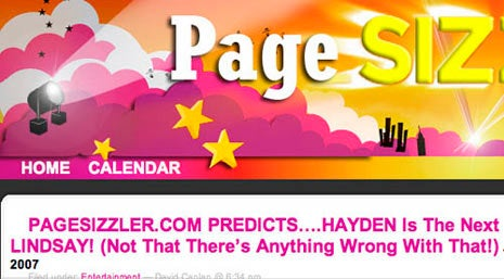 Page Sizzler!