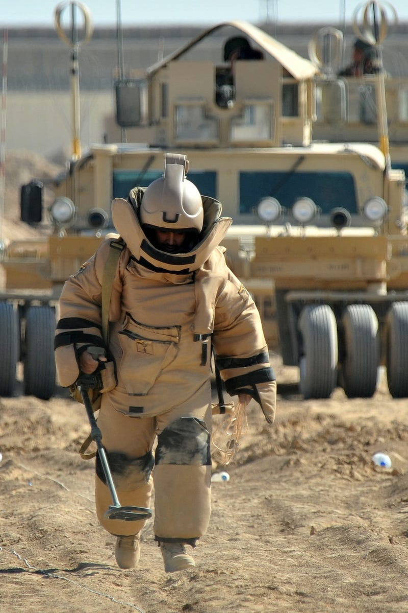 From Pickaxes to Robots: The Evolution of the Bomb Disposal Squad