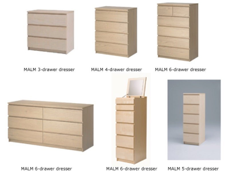 Ikea Recalls 29 Million Dressers After Third Child Dies