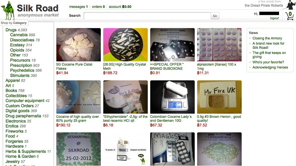 booming silk road drug market boasts 22 million in yearly