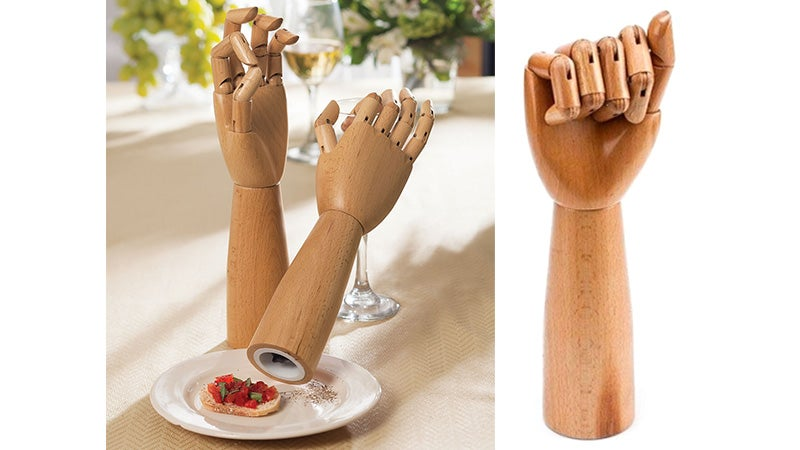 Posable Hand Grinders Turn Seasoning a Dish Into Art