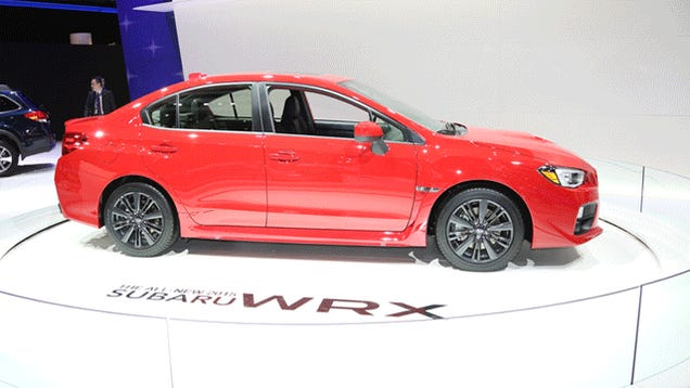 Here's The 2015 Subaru WRX In 360 View