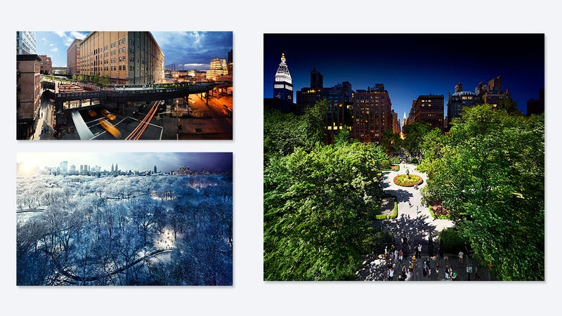 Experience an Entire Day in New York in One Photograph