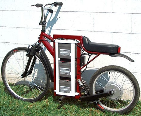 LongRanger Electric Bike Won't Win Any Beauty Contests, But It'll Get You There