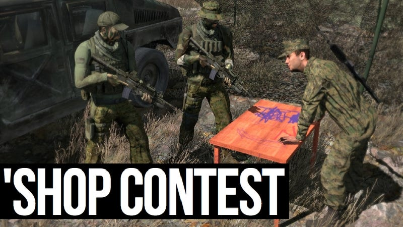 Kotaku 'Shop Contest: Table Talk