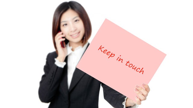 Keep in Touch with a Former Boss and Co-Workers by Regularly Forwarding Useful Information