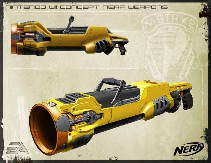 Wicked Wii Nerf N-Strike Concept Weapons