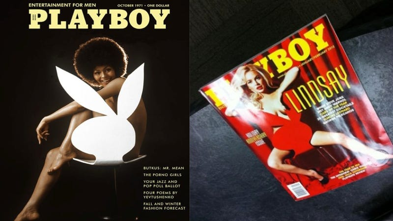 Lindsay Lohan's 'Very Classy' Playboy Cover Leaks Online