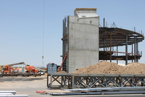 Spaceport America: Work In Progress
