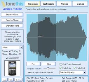 ToneThis Makes Ringtones, Wallpaper Dead Simple