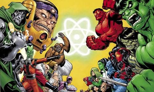 Finally: Hulks Vs. Intelligensia In New Comic!