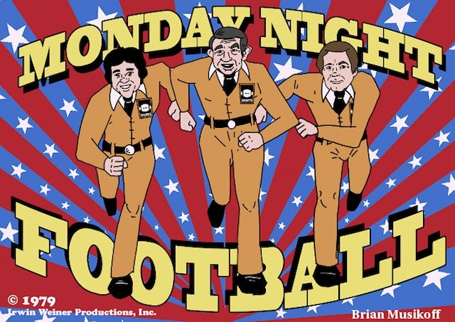 Excerpts From The Long-Lost Script For Monday Night Football: The Cartoon