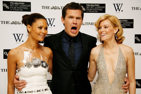 Josh Brolin Is Really Excited About Hanging Out With His Co-Stars!