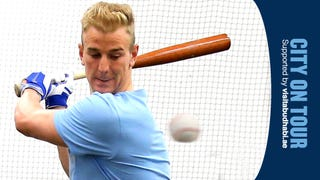 Incoming Baseball Scares The Bejesus Out Of Manchester City's Joe Hart
