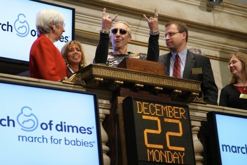 Signs Of The Depression: Dee Snider Opens The NYSE
