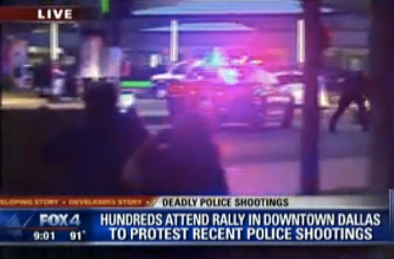 5 Officers Dead, 6 Injured After Shooting at Police Protest in Dallas
