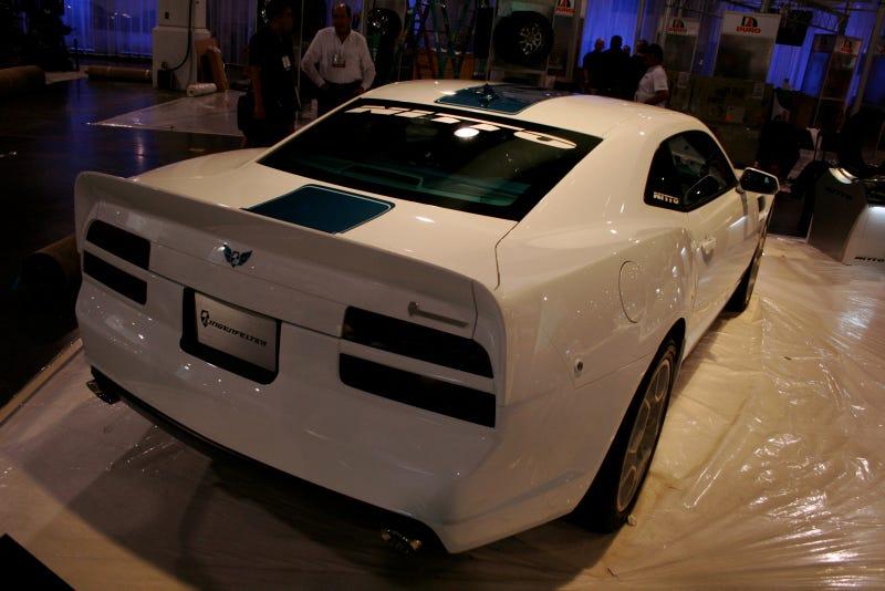 Lingenfelter 455 T/A Concept: 2009 SEMA Live Photos