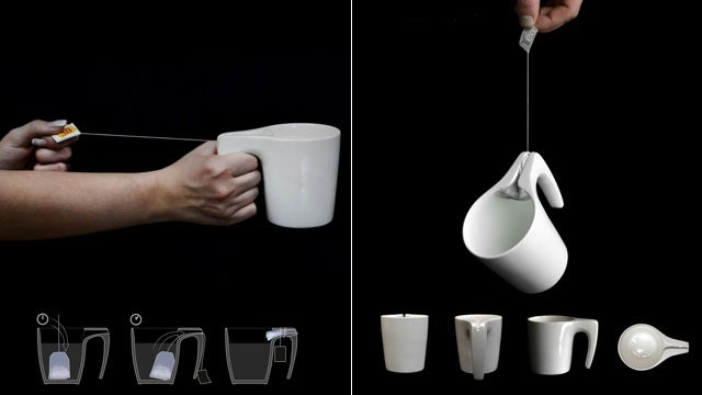 This Mug Would Let Tea Drinkers Say Goodbye to Spoons For Good
