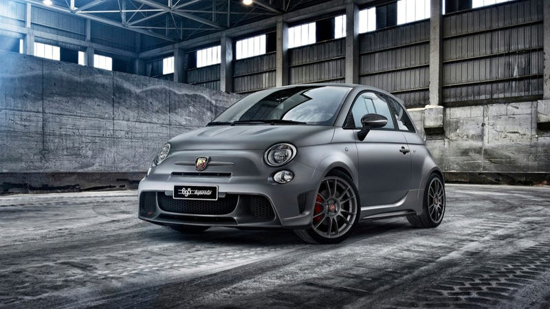The Fiat 500 695 Biposto Is The Nuttiest Abarth Yet