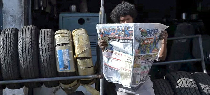 Citronella Ink Helps This Clever Newspaper Keep Mosquitoes At Bay