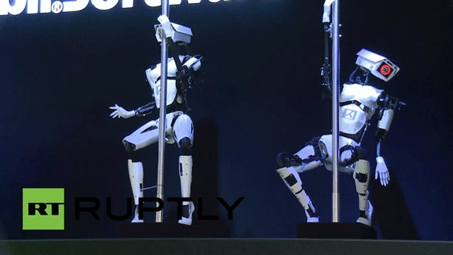 Pole Dancing Robots Are a Real Thing