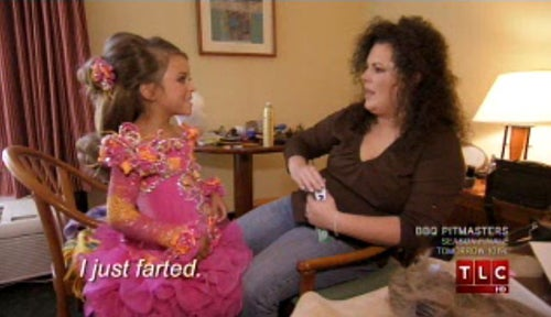 Toddlers & Tiaras: Captioning The Moments