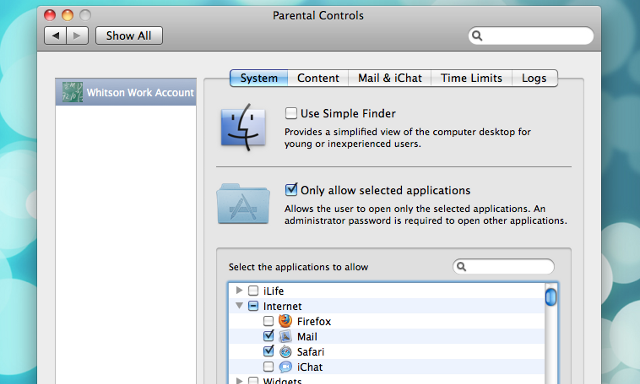 Use OS X's Parental Controls to Encourage Productivity (Without Extra Software)