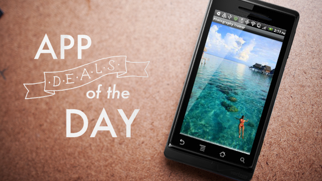 Daily App Deals: Get Photography Trainer for Android for 99¢ in Today's App Deals