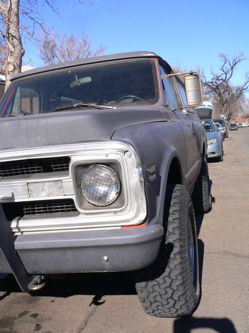 1969 Chevrolet Blazer Down On The Mile High Street