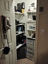 The Command-Center-in-a-Closet Workspace