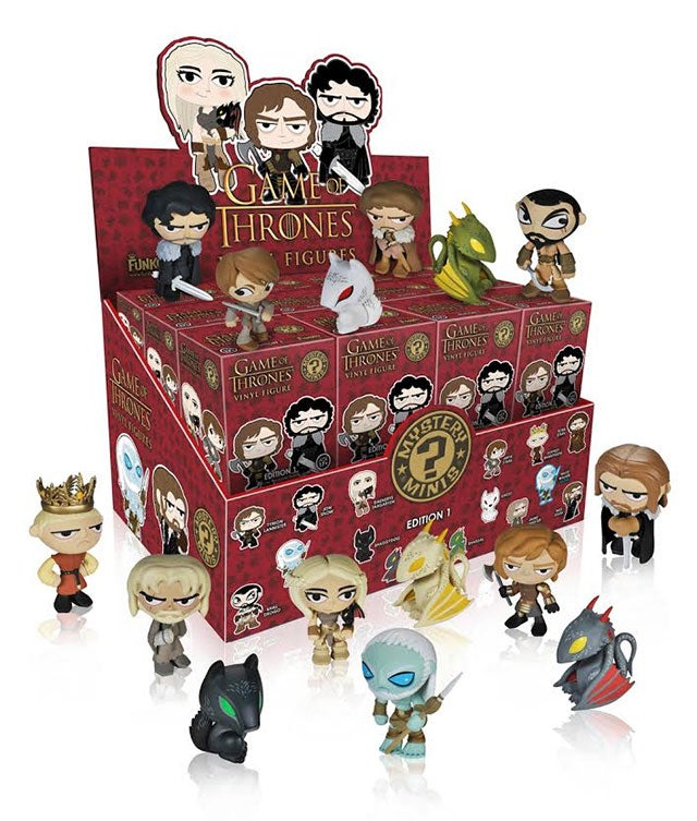 Luke Hates Funko's Game Of Thrones Vinyl Figures