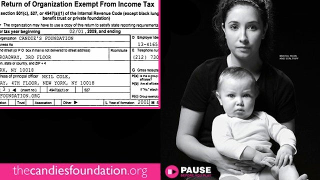 Candie's Foundation Pays Bristol Palin $260K, Gives Little To Actual Initiatives