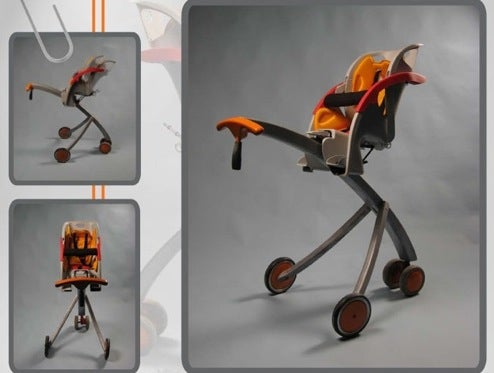 Metrolla Strolla: Baby Stroller Gets Some Height Added