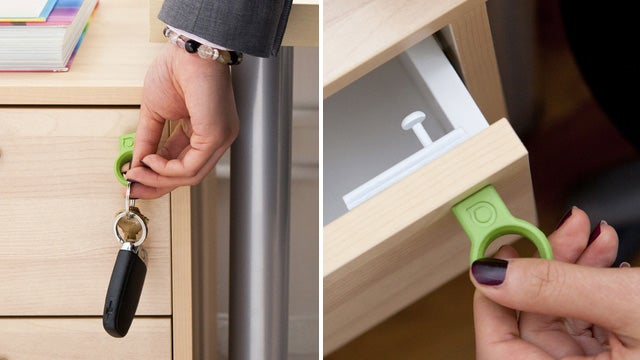 Quirky's Invisible Drawer Locks Only Open With a Magnetic Key