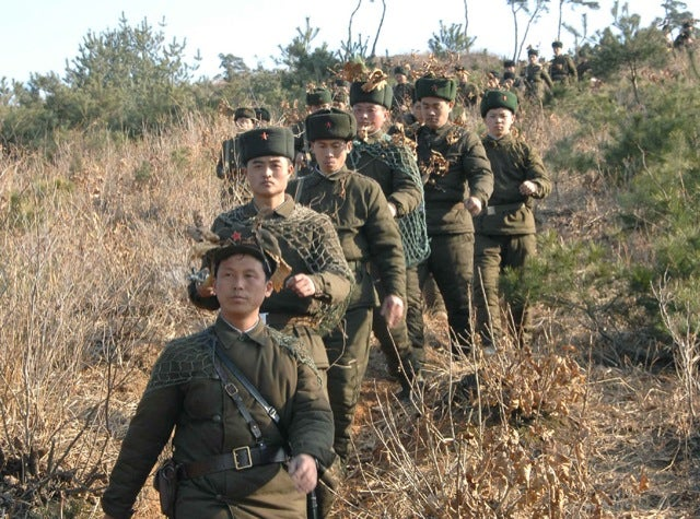North Korean Camo Actually Isn't That Awful